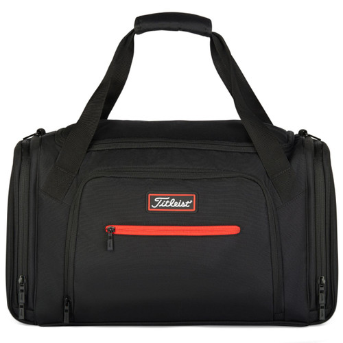 Titleist Personalized Players Duffel Bag - Black / Red
