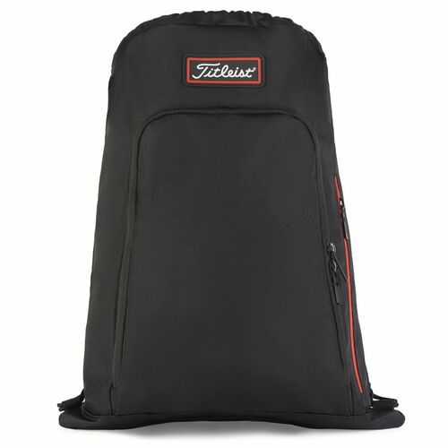 Titleist Personalized Players Sack Pack - Black / Red