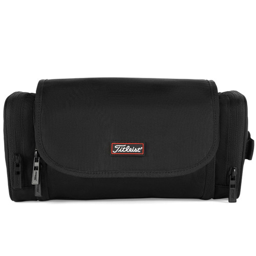 Titleist Personalized Players Hanging Toiletries Bag - Black / Red