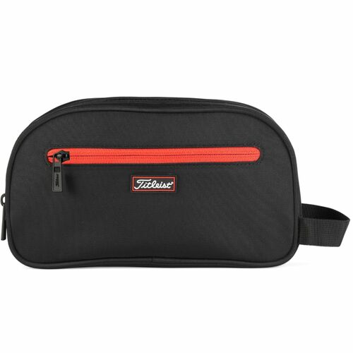 Titleist Personalized Players Dopp Kit - Black / Red