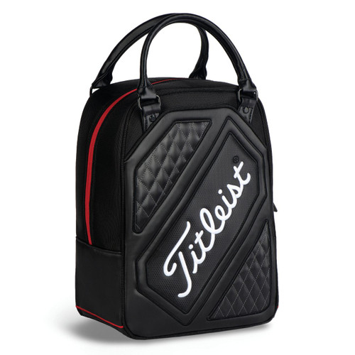 Titleist Shag Bag - Black / Black / Red