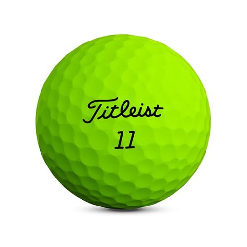 Titleist Velocity Matte Green Dozen Golf Balls 2020