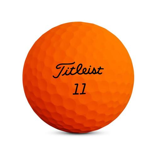 Titleist Velocity Matte Orange Dozen Golf Balls 2020
