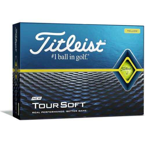 Titleist Tour Soft Yellow Personalized Dozen Golf Balls 2020