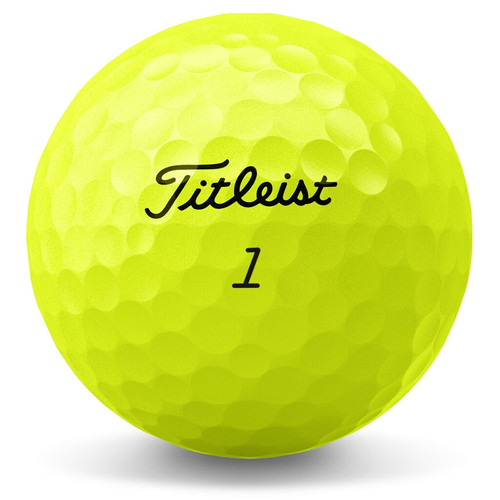 Titleist Tour Soft Yellow Personalized Dozen Golf Balls 2020