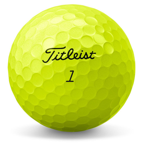 Titleist AVX Yellow Dozen Golf Balls 2020