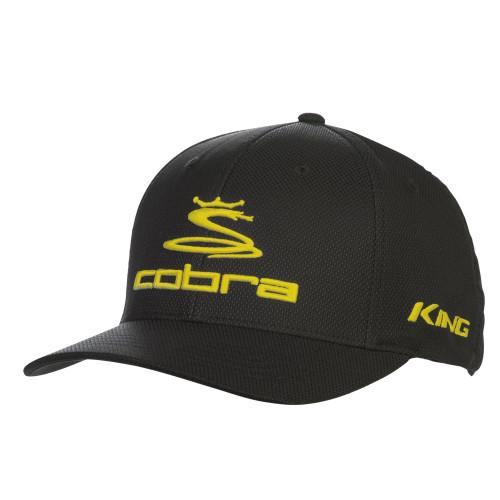 Cobra Pro Tour Stretch Fit Cap- Black / Yellow