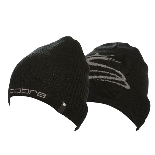Cobra Reversible Beanie - Black