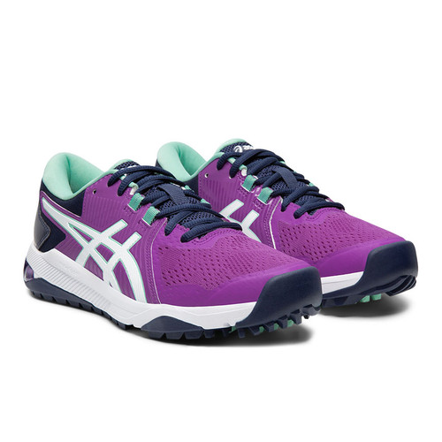 Asics Gel-Course Glide Womens Golf Shoes - Fuschia / White / Mint