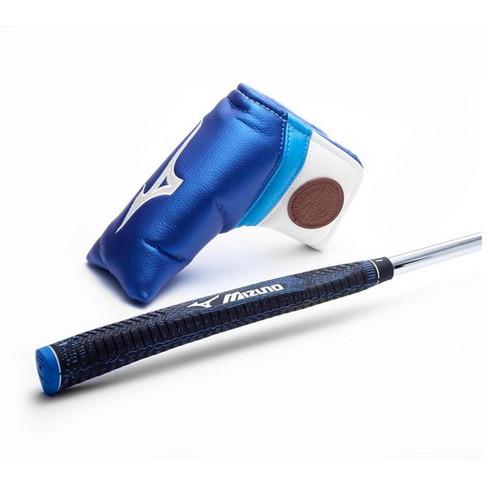 Mizuno M-Craft Type III Blue Ion Putter Headcover & Grip