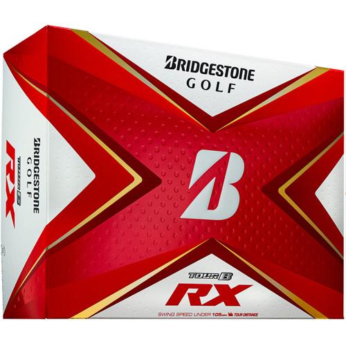 Bridgestone Tour B RX Dozen Golf Balls 2020 - White