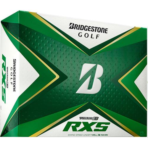 Bridgestone Tour B RXS Dozen Golf Balls 2020 - White