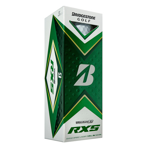 Bridgestone Tour B RXS Dozen Golf Balls 2020 - White