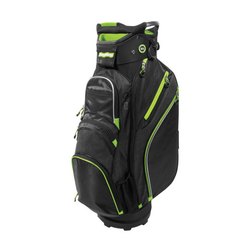 BagBoy Chiller Cart Bag - Black / Lime / Silver