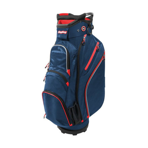 BagBoy Chiller Cart Bag - Navy / Red / White