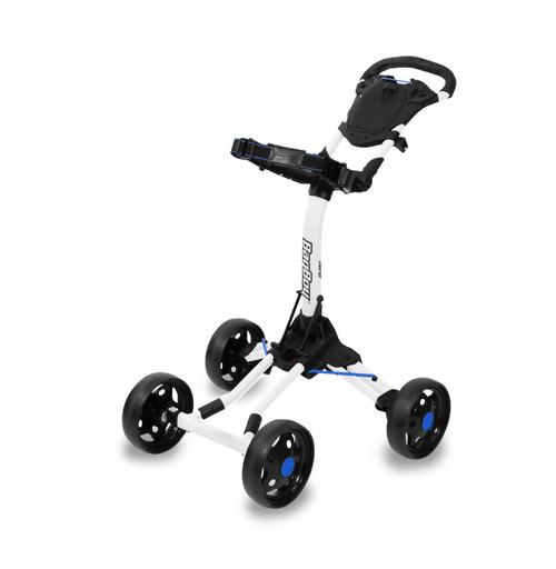 BagBoy Quad Junior Push Cart - White / Cobalt