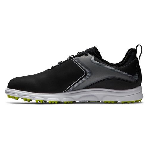 FootJoy Superlites XP Golf Shoes - Black / Lime (58075)