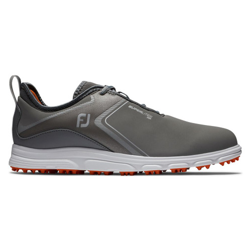 FootJoy Superlites XP Golf Shoes - Grey / Orange (58073)