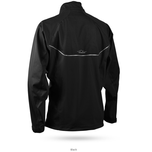Sun Mountain Tour Long Sleeve Pullover - Black