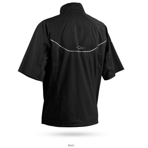 Sun Mountain Tour Series Short Sleeve Pullover - Black