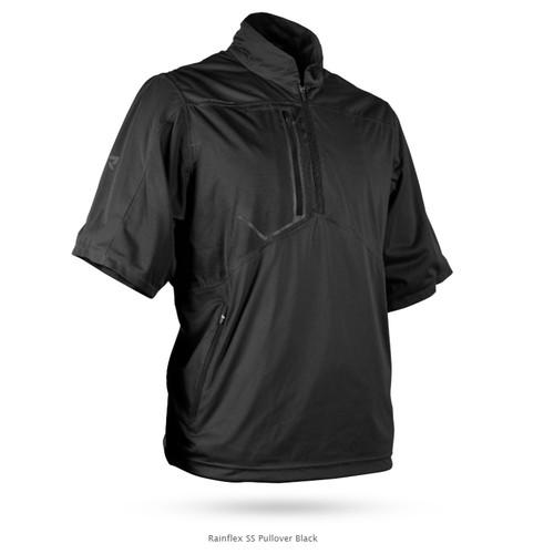 Sun Mountain Rainflex Short Sleeve Pullover - Black