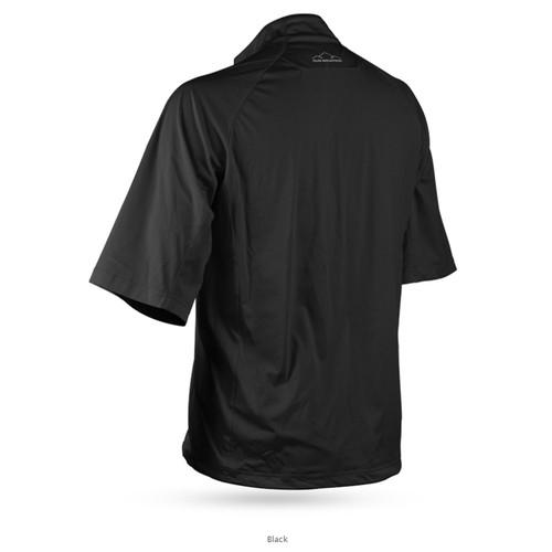 Sun Mountain Zephyr LT Short Sleeve Pullover - Black