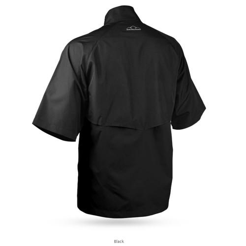 Sun Mountain Headwind Short Sleeve Jacket - Black