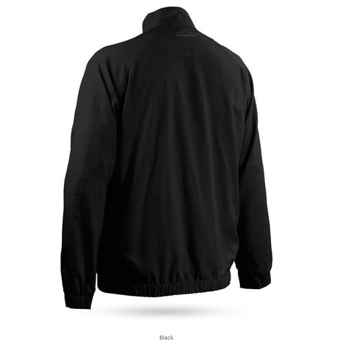 Sun Mountain Brushed Solo Windshirt - Black
