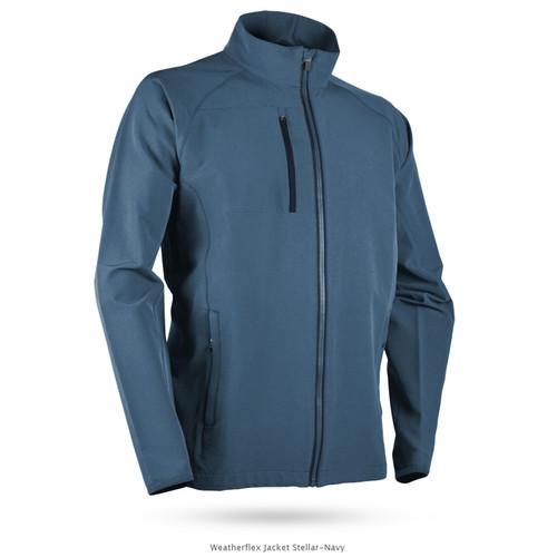 Sun Mountain WeatherFlex Jacket - Stellar / Navy