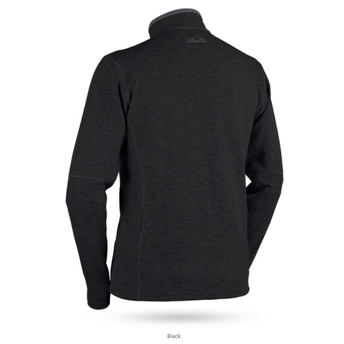 Sun Mountain Pryor Performance Sweater - Black