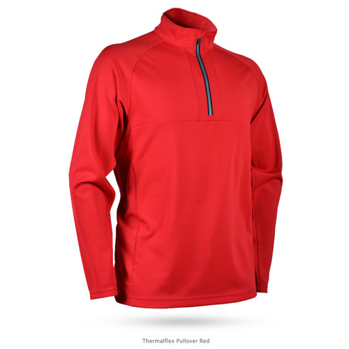 Sun Mountain ThermalFlex Pullover - Red