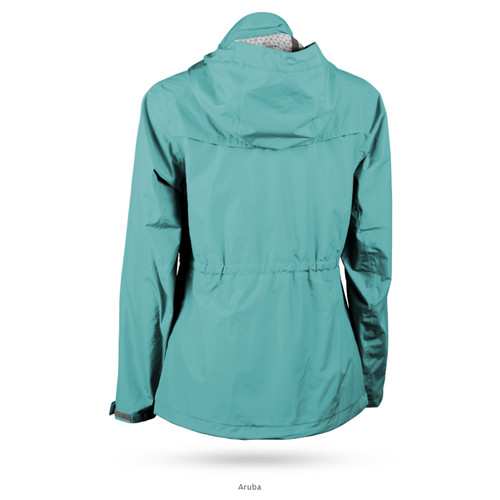 Sun Mountain Womens Cumulus Jacket - Aruba