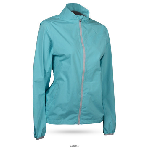 Sun Mountain Womens Monsoon Jacket - Bahama