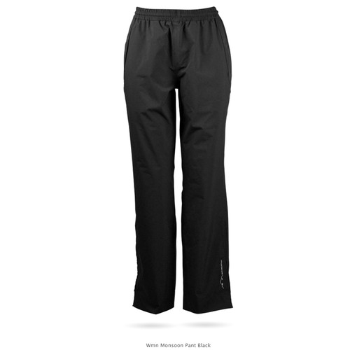 Sun Mountain Womens Monsoon Pants - Black