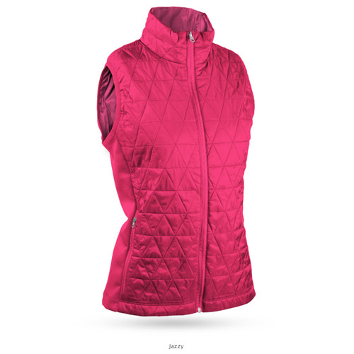Sun Mountain Womens AT Hybrid Vest - Jazzy