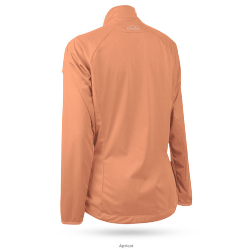 Sun Mountain Womens Zephyr LT Jacket - Apricot