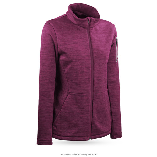 Sun Mountain Womens Glacier Jacket - Berry