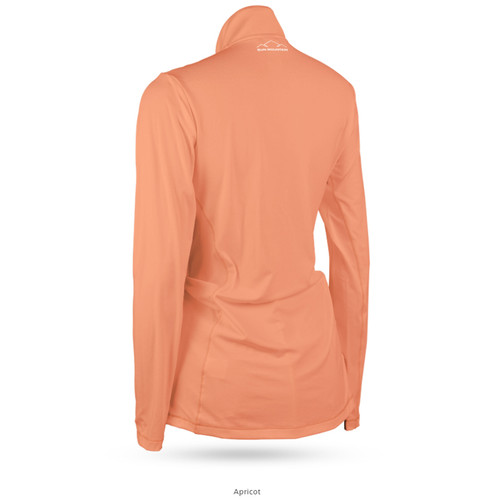 Sun Mountain Womens Second Layer Pullover - Apricot