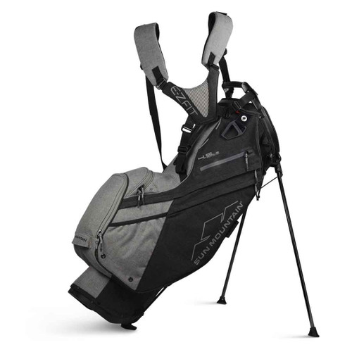 Sun Mountain 4.5 LS 14-Way Stand Bag - Sunbrella / Charcoal / Gray