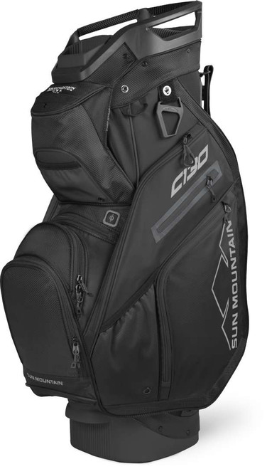 Sun Mountain C-130 Cart Bag - Black
