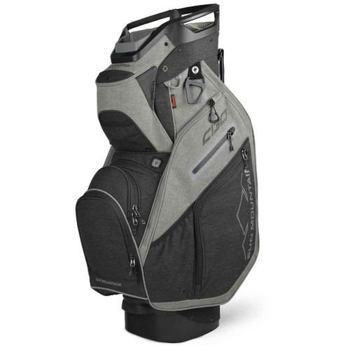Sun Mountain C-130 Cart Bag - Sunbrella / Charcoal / Gray