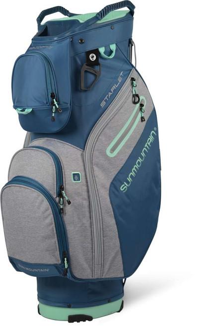 Sun Mountain Womens Starlet Cart Bag - Spruce/Charcoal/Ice