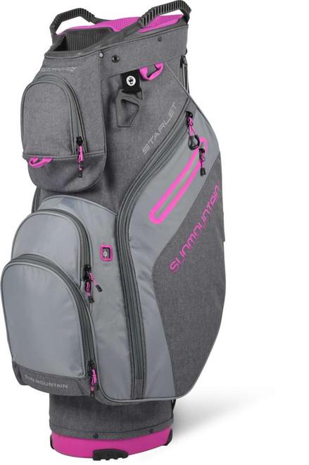 Sun Mountain Womens Starlet Cart Bag - Carbon/Cadet/Fuschia