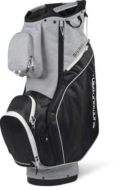 Sun Mountain Womens Sierra Cart Bag - Charcoal / Black / White
