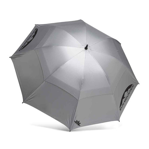 "Sun Mountain 62"" Manual UV Umbrella - Silver"
