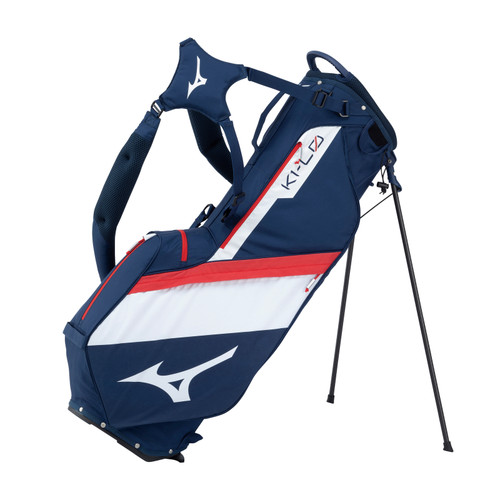 Mizuno K1-LO Stand Bag 2021 - Navy / Red