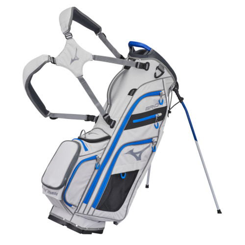 Mizuno BR-D4 Stand Bag 2021 - Grey / Charcoal