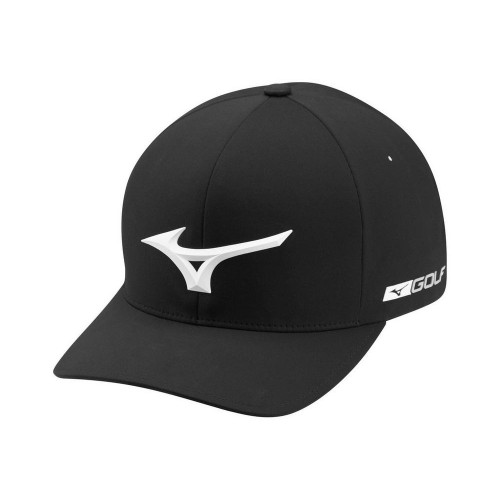 Mizuno Tour Delta Fitted Cap 2021 - Black