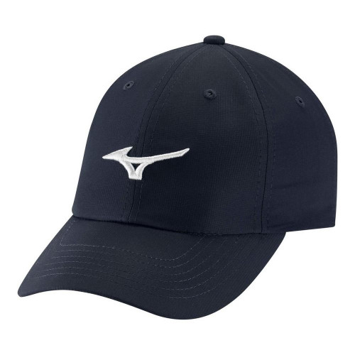 Mizuno Tour Adjustable Lightweight Small Fit Cap - Navy / Robins Egg