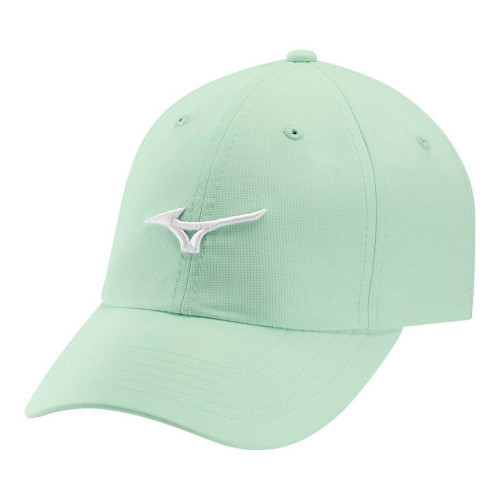 Mizuno Tour Adjustable Lightweight Small Fit Cap- Robins Egg / White